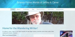 New website for Science Fiction Worlds of Jeffrey A. Carver