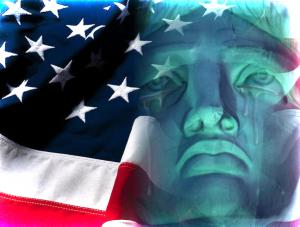 Crying Lady Liberty