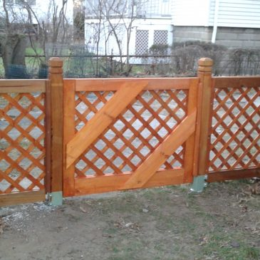 Arlington Chronicles: The Gate Is Up and the Fence Is Done!