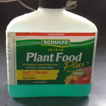 """""""So, I Just Washed My Clothes in Plant Food?"""""""
