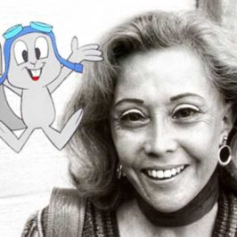 June Foray, a.k.a. Rocket J. Squirrel, at 99