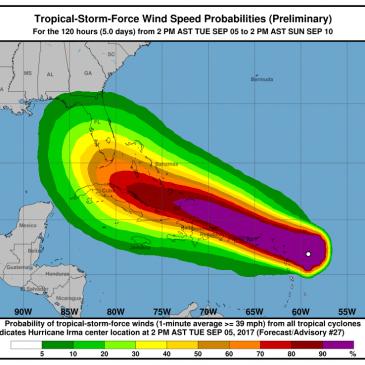 Hurricane Irma Looms