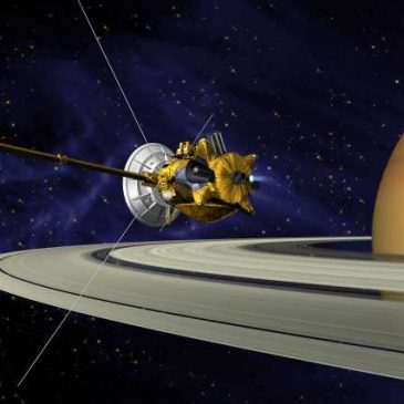Cassini, We're Going to Miss You!