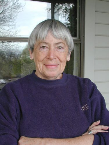 Ursula LeGuin photo by Eileen Gunn
